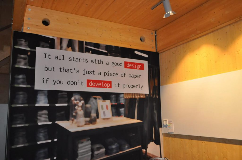 Visual area create & innovate store3d
